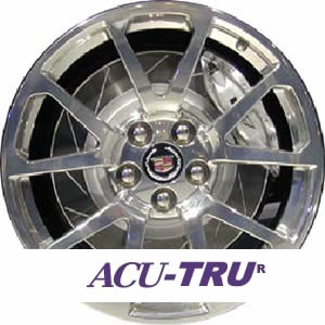 "19"" Cadillac CTS-V, STS Wheel Rim - 4649, 4650, 4676 u80 rear"